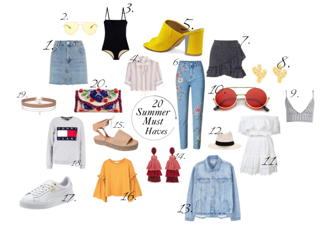 20 Summer Must Haves